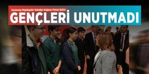 Gaziantep Büyükşehir Belediye Başkanı Fatma Şahin, gençleri unutmadı