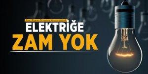 EPDK: Elektriğe zam yok