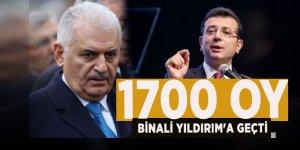 CHP kabul etti! İstanbul'da 1700 oy Binali Yıldırım'a geçti