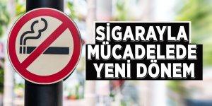 Sigarayla mücadelede yeni dönem