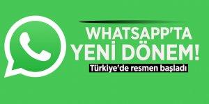 WhatsApp'ta yeni dönem! Türkiye'de resmen başladı