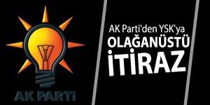 AK Parti'den YSK'ya olağanüstü itiraz