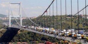 Fatih Sultan Mehmet Köprüsü'nde hakaretli anlar