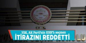 YSK, AK Parti'nin KHK'lı seçmen itirazını reddetti
