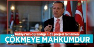"""Cumhurbaşkanı Erdoğan: """"Türkiye'nin dışlandığı F-35 projesi tamamen çökmeye mahkumdu"""""""