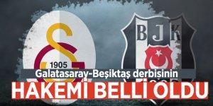 Galatasaray-Beşiktaş derbisinin hakemi belli oldu