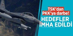 TSK'dan PKK'ya darbe! Hedefler imha edildi