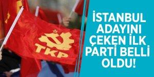 İstanbul adayını çeken ilk parti belli oldu!