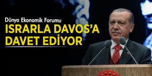 Cumhurbaşkanı Erdoğan'a Davos daveti