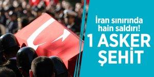 İran sınırında hain saldırı! 1 asker şehit