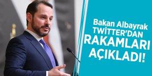 Bakan Albayrak Twitter'dan rakamları açıkladı!