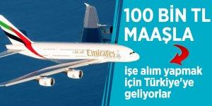 100 bin TL maaşla işe alım yapmak için Türkiye'ye geliyorlar