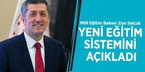 Milli Eğitim Bakanı Ziya Selçuk yeni eğitim sistemini açıkladı
