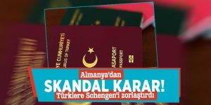 Almanya'dan skandal karar! Türklere Schengen'i zorlaştırdı