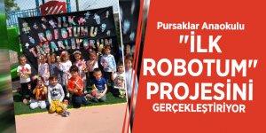 """Pursaklar Anaokulu """"İlk robotum"""" projesini gerçekleştiriyor"""