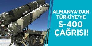 Almanya'dan Türkiye'ye S-400 çağrısı!