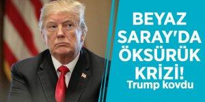 Beyaz Saray'da öksürük krizi! Trump kovdu
