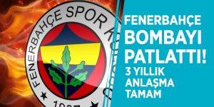 Fenerbahçe bombayı patlattı! 3 yıllık anlaşma tamam