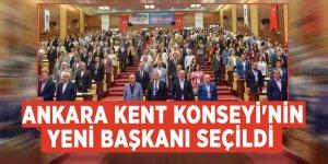 Ankara Kent Konseyi'nin yeni başkanı seçildi