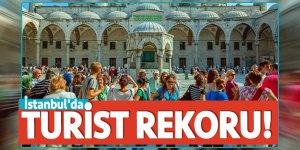 İstanbul'da turist rekoru!
