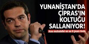 Yunanistan'da Çipras'ın koltuğu sallanıyor! Ana muhalefet en az 8 puan önde
