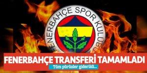 Tüm pürüzler giderildi... Fenerbahçe transferi tamamladı
