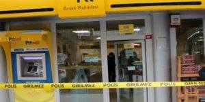 İstanbul'da PTT şubesi soyuldu