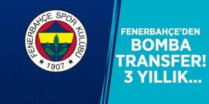 Fenerbahçe'den bomba transfer! 3 yıllık...