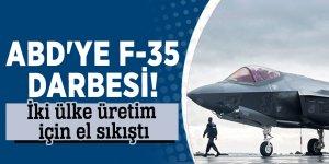 ABD'ye F-35 darbesi! İki ülke üretim için el sıkıştı