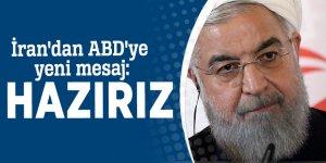 İran'dan ABD'ye yeni mesaj: Hazırız