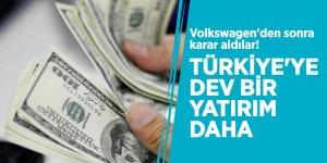 Volkswagen'den sonra karar aldılar! Türkiye'ye dev bir yatırım daha