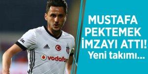 Mustafa Pektemek imzayı attı! Yeni takımı...