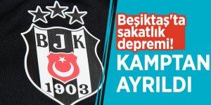 Beşiktaş'ta sakatlık depremi! Kamptan ayrıldı