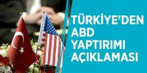 Türkiye'den ABD yaptırımı açıklaması