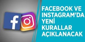 Milyonları ilgilendiriyor! Facebook ve Instagram'da yeni kurallar açıklanacak