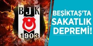 Beşiktaş'ta sakatlık depremi!