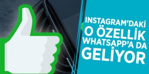 Instagram'daki o özellik WhatsApp'a da geliyor