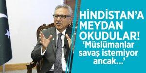 Hindistan'a meydan okudular! 'Müslümanlar savaş istemiyor ancak…'