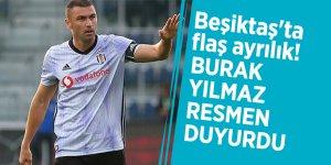 Beşiktaş'ta flaş ayrılık! Burak Yılmaz resmen duyurdu