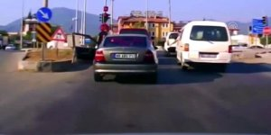 Trafikte satırlı tehdide ceza!