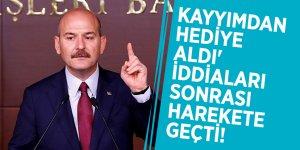 İçişleri Bakanı Süleyman Soylu, 'Kayyımdan hediye aldı' iddiaları sonrası harekete geçti!