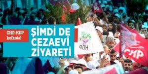 CHP-HDP kolkola! Şimdi de cezaevi ziyareti