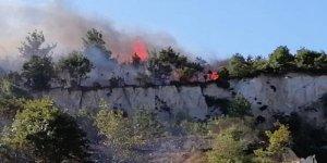 Çanakkale'de orman yangını! Havadan ve karadan müdahale ediliyor