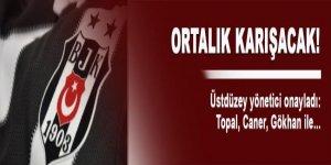 Beşiktaş'tan bomba açıklama: Gökhan, Topal ve Caner ile...'