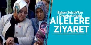 Bakan Selçuk'tan Diyarbakır'daki ailelere ziyaret
