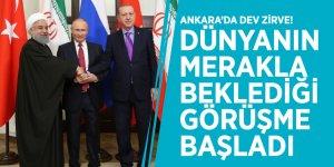 Ankara'da dev zirve! Dünyanın merakla beklediği görüşme başladı