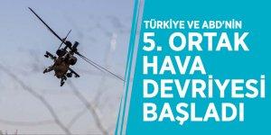 Türkiye ve ABD'nin 5. ortak hava devriyesi başladı