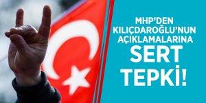 MHP'den Kılıçdaroğlu'nun açıklamalarına sert tepki!