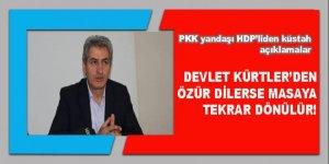 HDP'li vekil: Devlet Kürtler'den özür dilerse masaya tekrar dönülür!