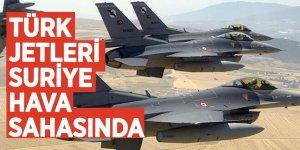 Bakanlık duyurdu: Türk jetleri Suriye hava sahasında